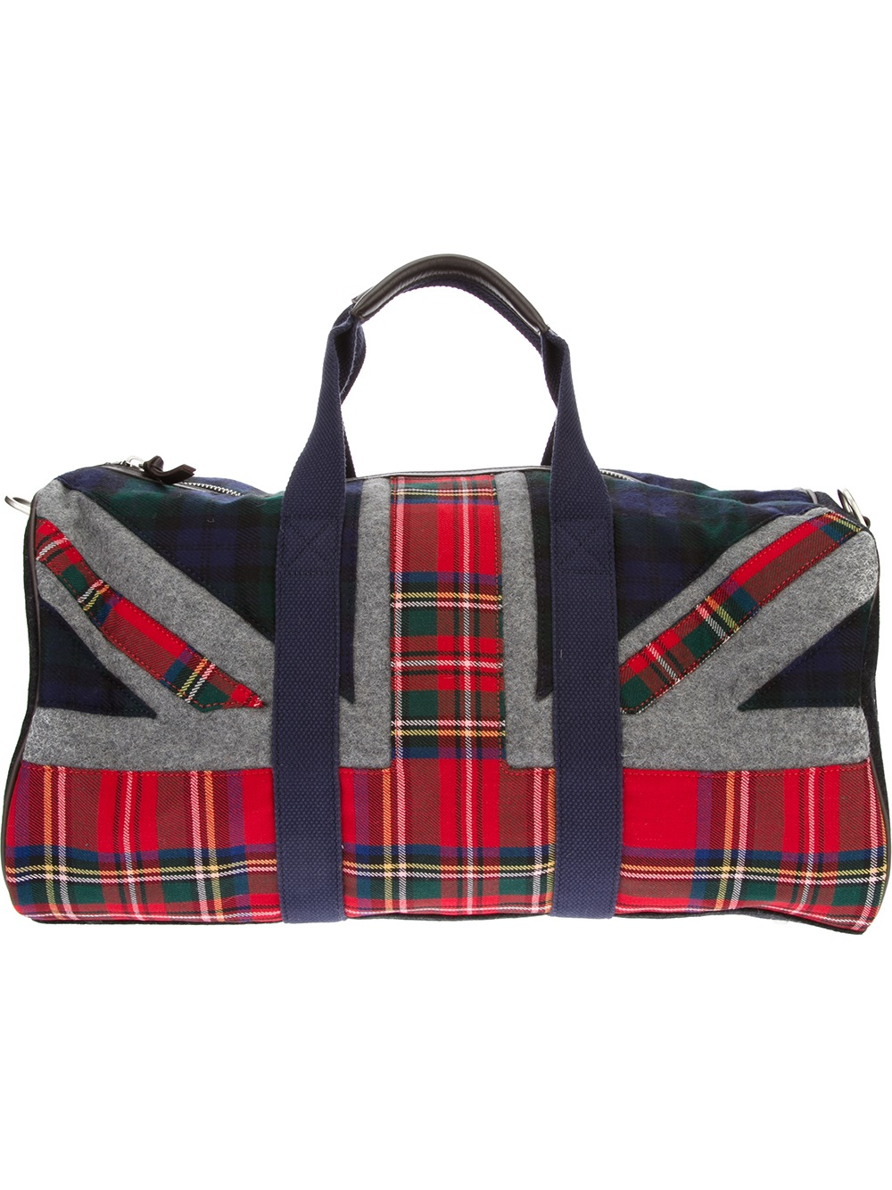 ee48bf45de5a Lyst - Hackett Union Jack Duffle Bag in Red for Men