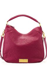 Marc By Marc Jacobs Washed Up Billy Hobo Bag Fuchsia - Lyst