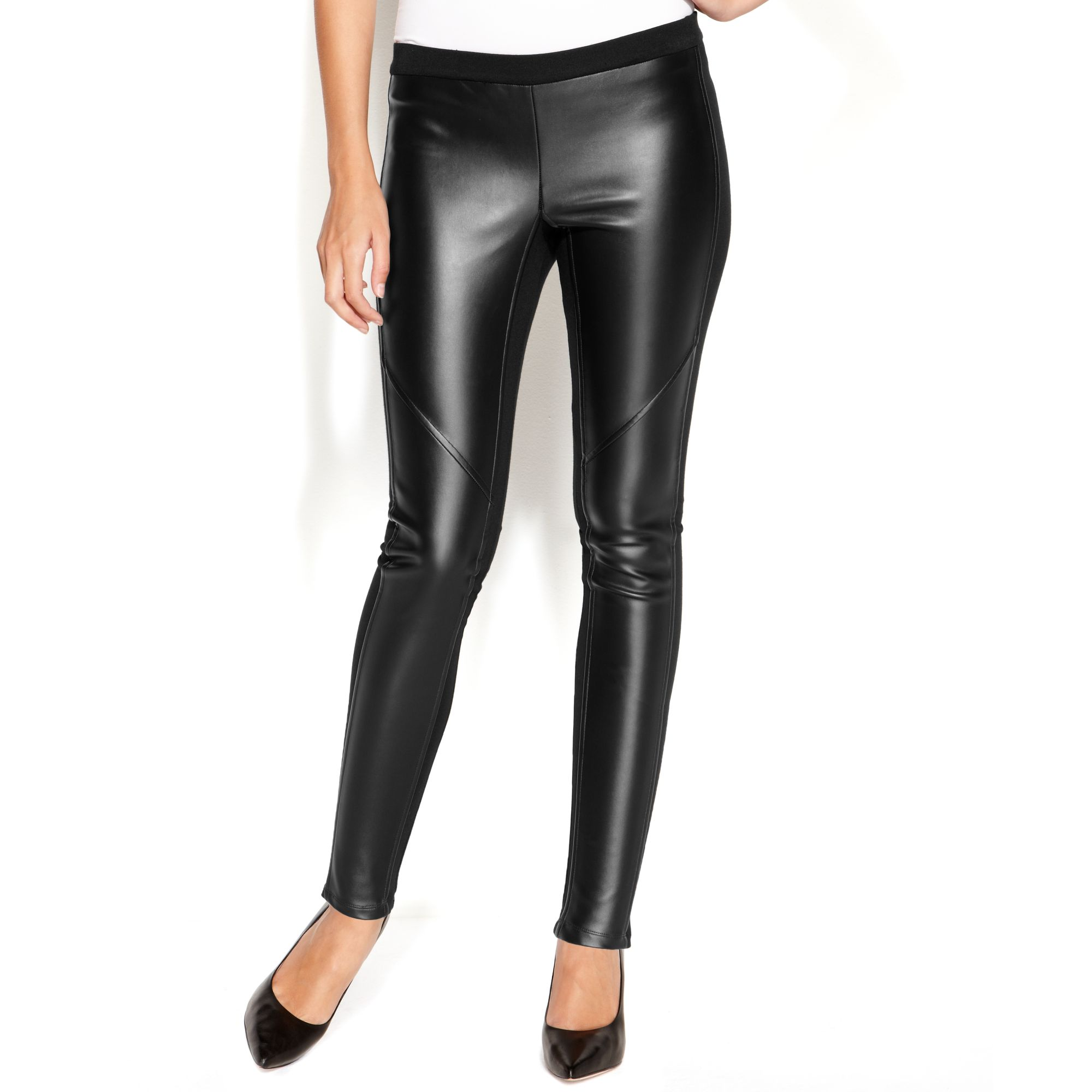 2dd82e12dda745 Gallery. Previously sold at: Macy's · Women's Faux Leather Pants ...