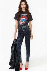 Nasty Gal Acid Drop Skinny Jeans - Lyst