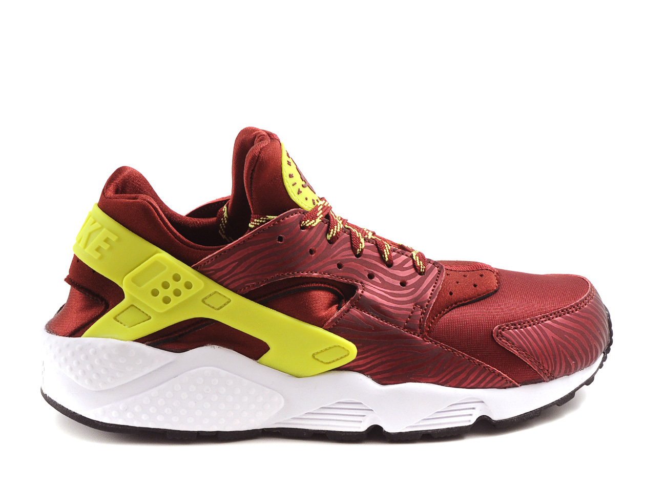 nike air huarache team red volt in red for men lyst. Black Bedroom Furniture Sets. Home Design Ideas