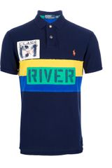 Polo Ralph Lauren Patch Detailed Polo Shirt - Lyst