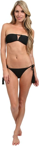 Thayer Bandeau Top and Tassel Bottom - Lyst