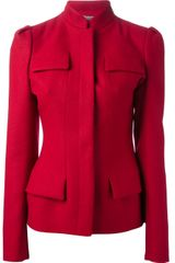Alexander McQueen Structured Jacket - Lyst