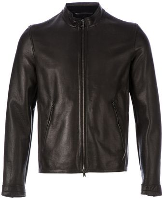 Drome Classic Leather Jacket - Lyst