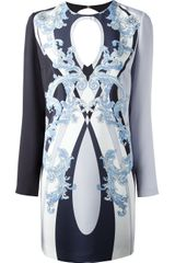 Emilio Pucci Baroque Fitted Dress - Lyst