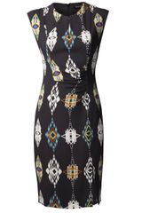 Etro Aztec Print Dress - Lyst