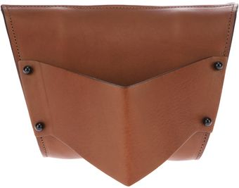 Fleet Ilya Sculpted Clutch - Lyst