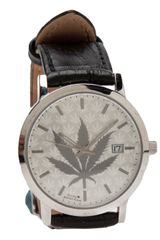 Lucien Pellat Finet Leaf Stainless Steel Watch - Lyst