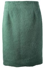 Marc Jacobs High Waist Skirt - Lyst