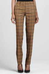 Michael Kors Samantha Lyndon Flannel Pants - Lyst