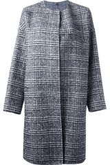 N_8 Plaid Coat - Lyst