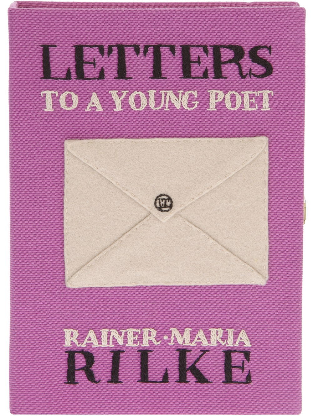Lyst Olympia le tan Letters To A Young Poet Clutch in Purple