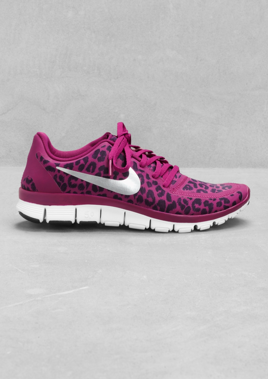 sale retailer 59ac3 a3285 Other Stories Nike Free 5.0 V4 in Purple - Lyst  Nike. Women s Blue Air  Force 1 ...