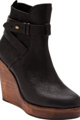Rag & Bone Emery Wedge Boot - Lyst