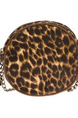 Ralph Lauren Leopard Print Shoulder Bag - Lyst