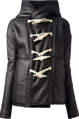 Rick Owens Toggle Coat - Lyst