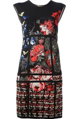 Roberto Cavalli Embroidered Dress - Lyst