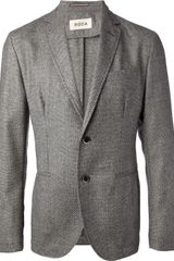 Roda Two Button Suit - Lyst