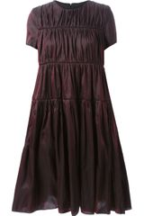 Sara Lanzi Flared Dress - Lyst