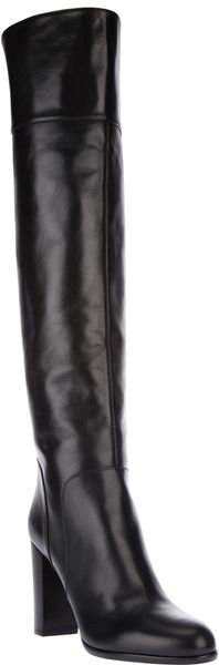 Sergio Rossi Knee High Boot - Lyst