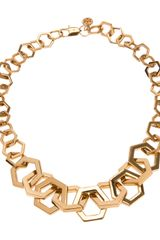 Tory Burch Chain Necklace - Lyst