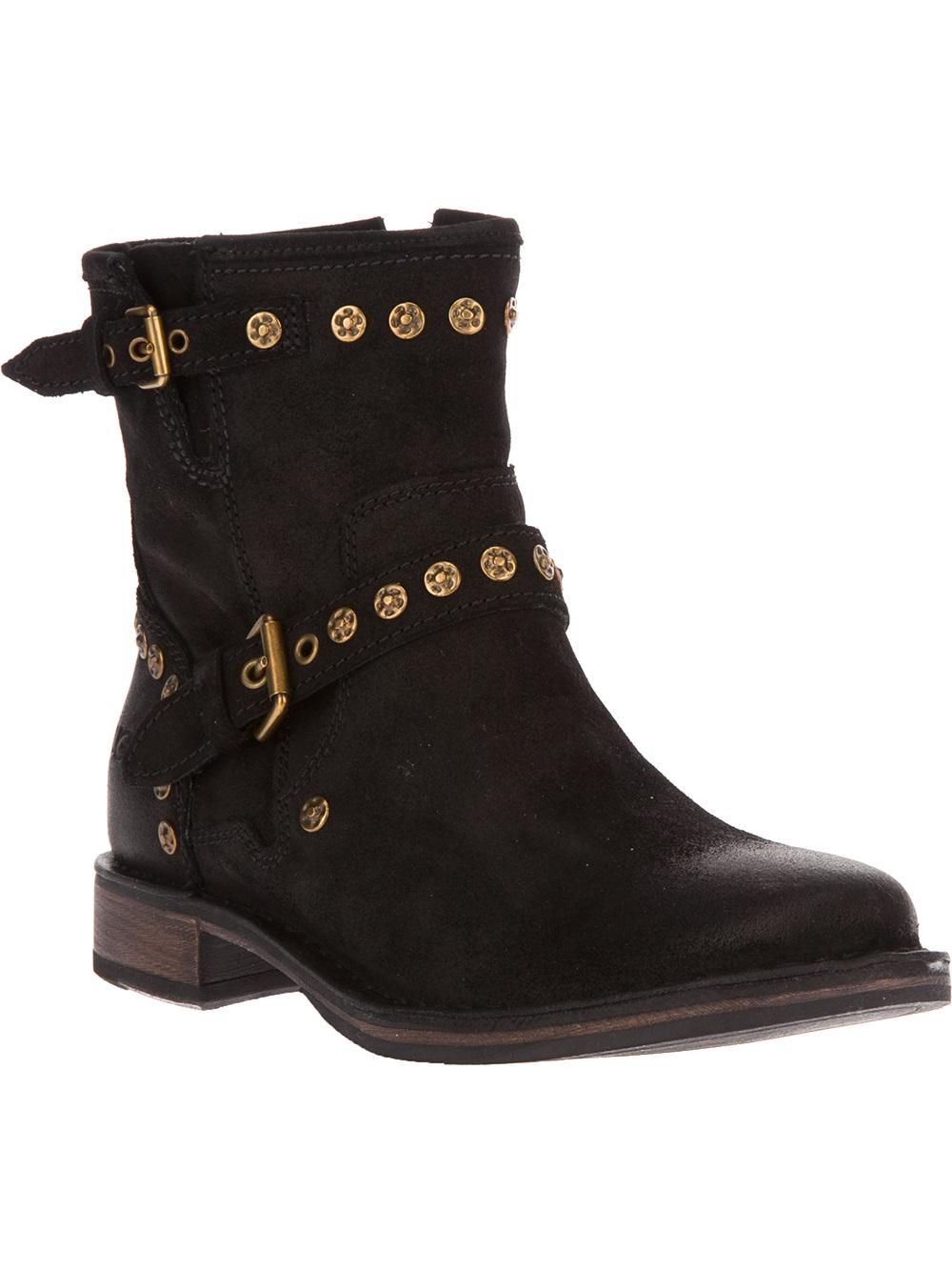 ugg fabrizia boot in black lyst
