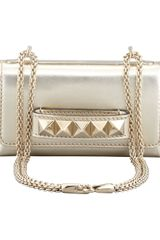 Valentino Va Va Voom Metallic Mini Bag Gold - Lyst