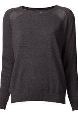 Vince Knit Sweater - Lyst