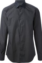 Z Zegna Classic Slim Fit Shirt - Lyst