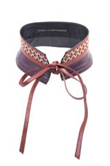 Diane Von Furstenberg Geometric Embroidered Belt - Lyst