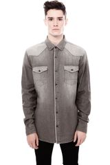 Pull&Bear Long Sleeve Shirt - Lyst