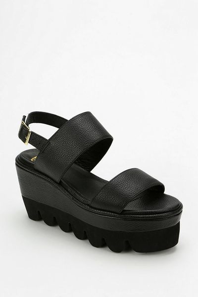 Urban Outfitters Yes Werque Bubbletread Platform Sandal In