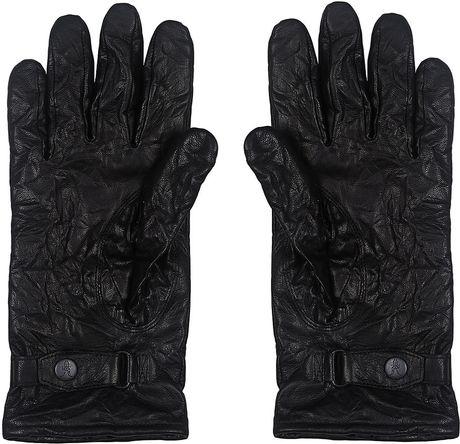Allsaints Yield Glove In Black For Men Lyst