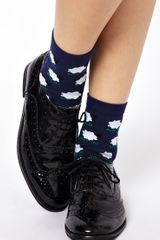 Asos Sheep Ankle Socks - Lyst