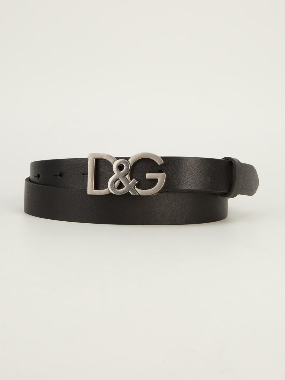 d147422e08 ... wholesale lyst dolce gabbana logo belt in black for men ee691 7acdb