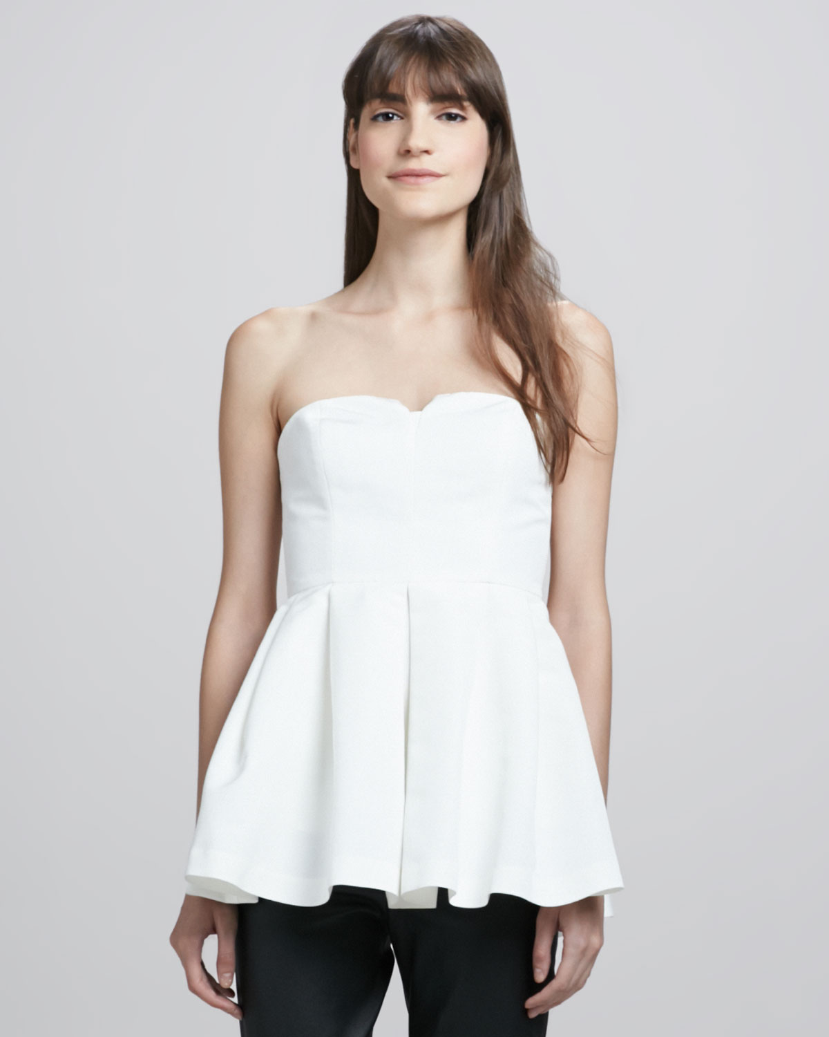 Shop for strapless peplum top online at Target. Free shipping on purchases over $35 and save 5% every day with your Target REDcard.