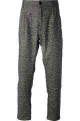 Etudes Archives Tweed Trouser - Lyst