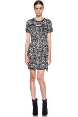 Isabel Marant Quilame Printed Studded Dress - Lyst