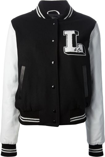 Lulu & Co Logo Bomber Jacket - Lyst