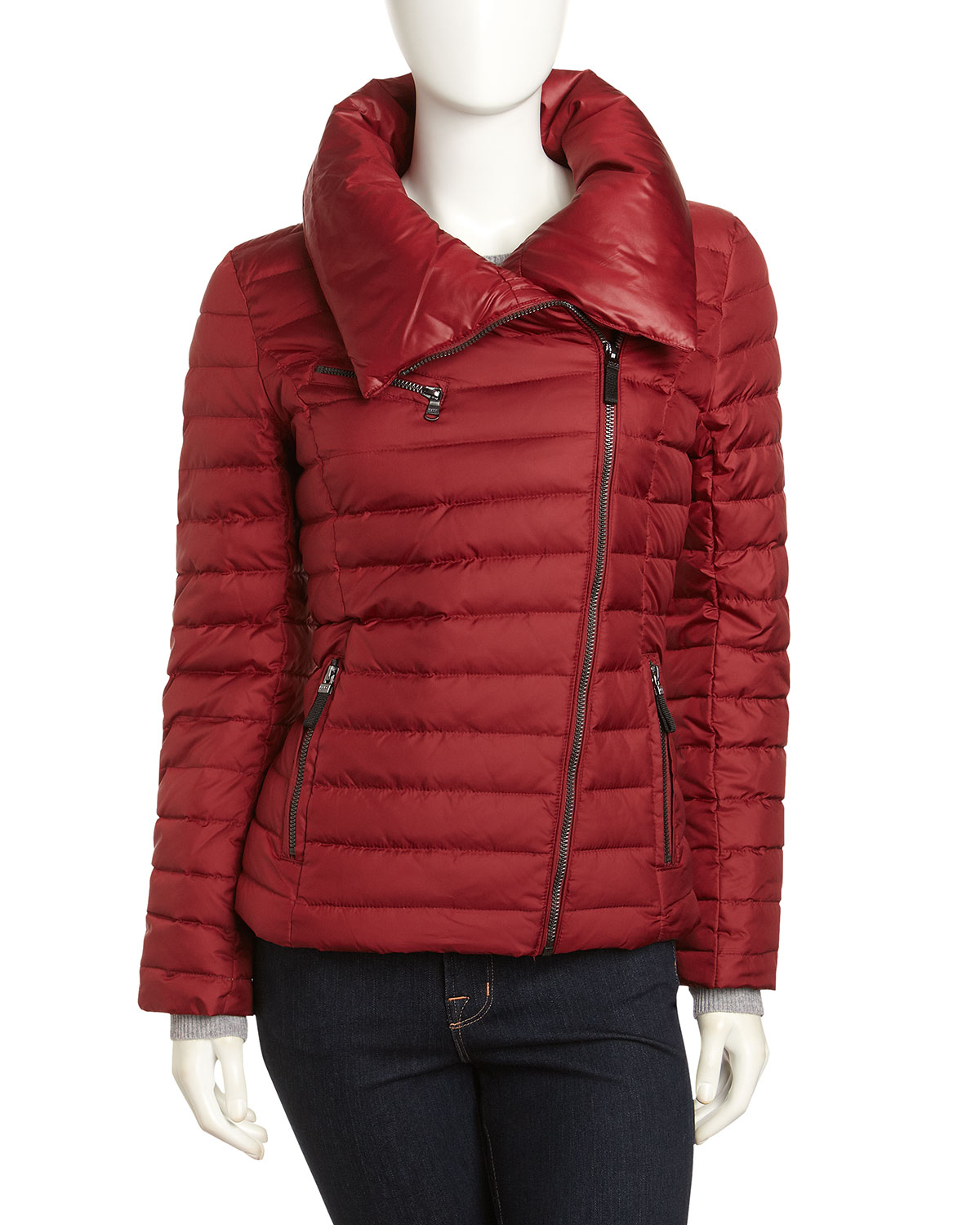 Marc New York By Andrew Marc Offcenter Quilted Jacket