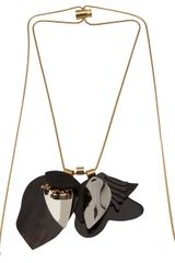 Marni Layered Cord Lock Necklace - Lyst