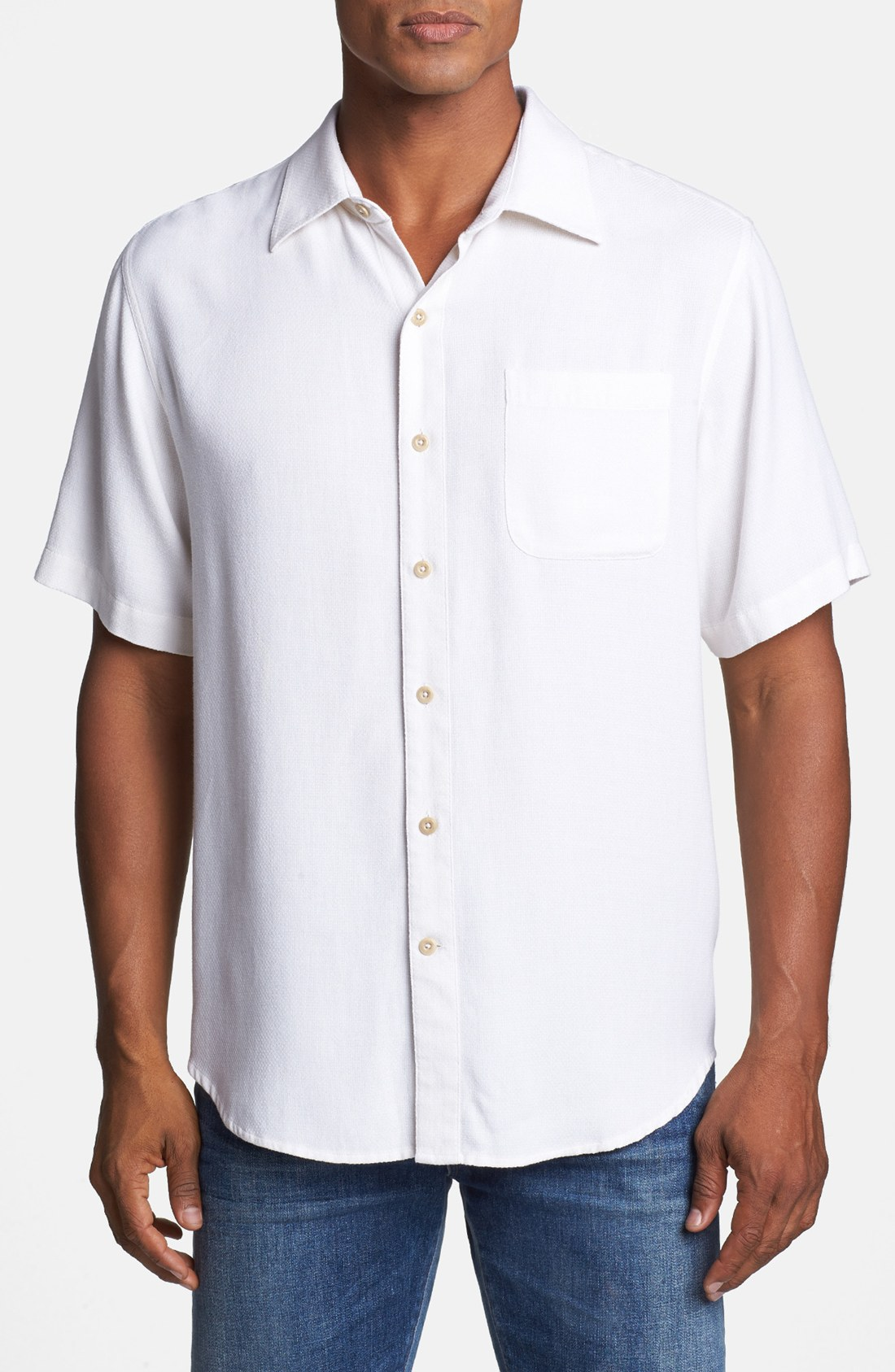 white silk shirts for men