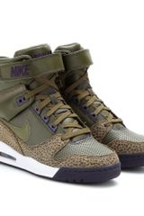 Nike Air Revolution Sky Hi Wedge Sneakers - Lyst