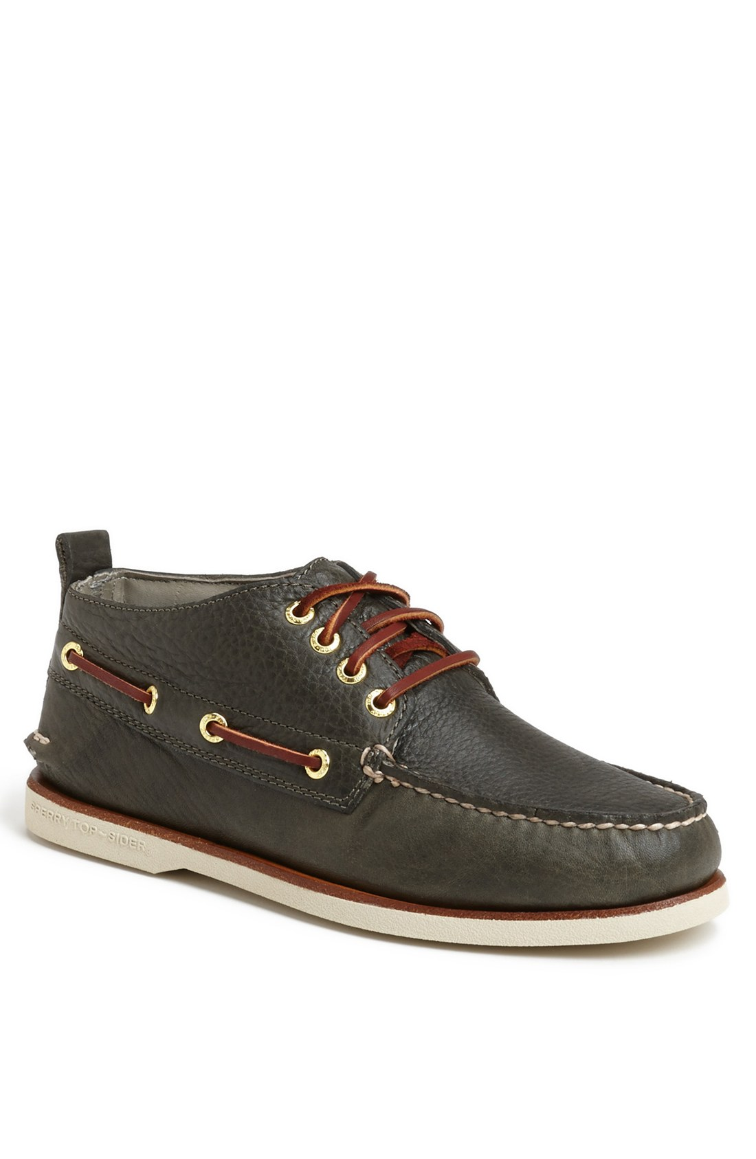 Sperry Top Sider Men S Gold Cup Chukka Boot In Gray For