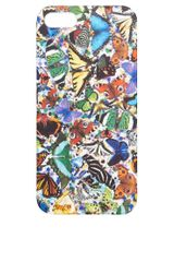 Asos Curve Textile Federation Iphone 5 Case in My Butterfly Print - Lyst