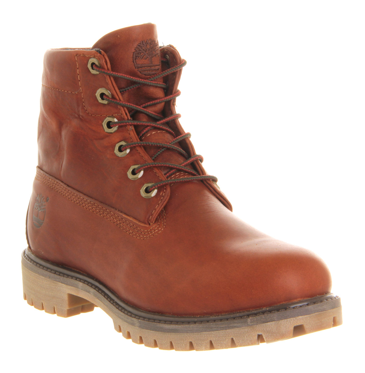 timberland roll top boots brown