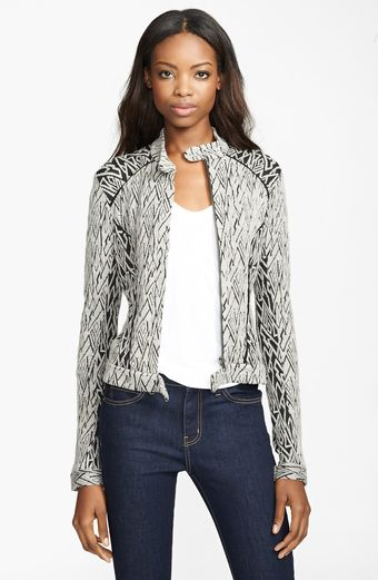 Tracy Reese Novelty Knit Jacket - Lyst