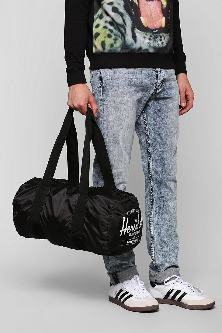 31bf5080bec0 Lyst - Urban Outfitters Herschel Supply Co Packable Duffle Bag in Black for  Men