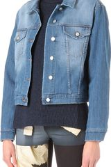 Acne Denim Jacket - Lyst